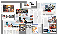 A compilation of some of the great publications, both in print and online, during and following the first ever fashion week at sea which took place on board Cunard's luxurious ocean liner, Queen Mary 2.<br /> Picture date: Friday November 11, 2016.<br /> Photograph by Christopher Ison &copy;<br /> 07544044177<br /> chris@christopherison.com<br /> www.christopherison.com