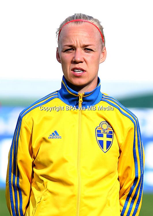 Fifa Womans World Cup Canada 2015 - Preview //<br /> Algarve Cup 2015 Tournament ( Vila Real San Antonio Sport Complex - Portugal ) - <br /> Germany vs Sweden 2-4   -  Caroline Seger of Sweden