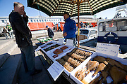 Kauppatori (Market Square). Smoked fish sold directly from the boat.