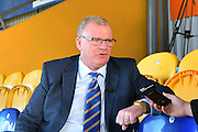 Mansfield Town manager Steve Evans before the EFL Sky Bet League 2 match between Mansfield Town and Crawley Town at the One Call Stadium, Mansfield, England on 19 November 2016. Photo by Simon Trafford.