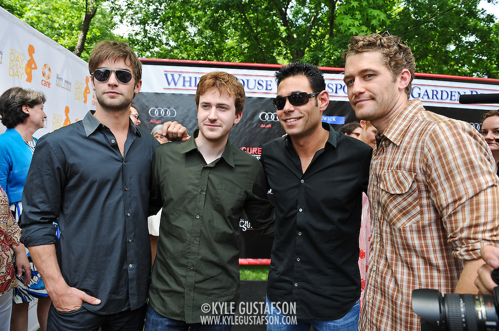 Chace Crawford, Joeseph Mazello, Eric Podwall and Matthew Morrison
