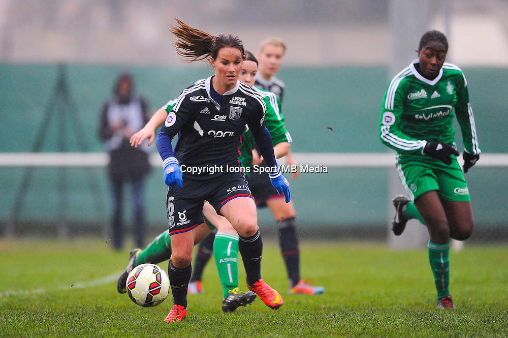 Amandine HENRY  - 03.12.2014 - Saint Etienne / Lyon - 11eme journee de Division 1<br /> Photo : Thomas Pictures / Icon Sport