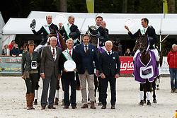 Team New Zealand, Graeme Thom, Price Tim, Blyght Tait, Dan Jocelyn, Sir Mark Todd, NZL<br /> CCI 3* Boekelo 2017<br /> © Dirk Caremans<br /> 08/10/2017