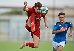 NAPLES, ITALY - Tuesday, September 17, 2019: Liverpool's Neco Williams during the UEFA Youth League Group E match between SSC Napoli and Liverpool FC at Stadio Comunale di Frattamaggiore. (Pic by David Rawcliffe/Propaganda)