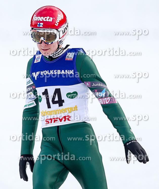 11.01.2014, Kulm, Bad Mitterndorf, AUT, FIS Ski Flug Weltcup, Bewerb, im Bild Jarkko Maeaettae (FIN) // Jarkko Maeaettae (FIN) during the FIS Ski Flying World Cup at the Kulm, Bad Mitterndorf, Austria on <br /> 2014/01/11, EXPA Pictures &copy; 2014, PhotoCredit: EXPA/ JFK