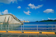 Fallen Bridge, Koror, Palau, Micronesia<br />