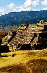 Mexico: Oaxaca..Monte Alban ruins, archaeology. .Photo Copyright Lee Foster, www.fostertravel.com. .Photo #: mxhuat103, 510/549-2202, lee@fostertravel.com