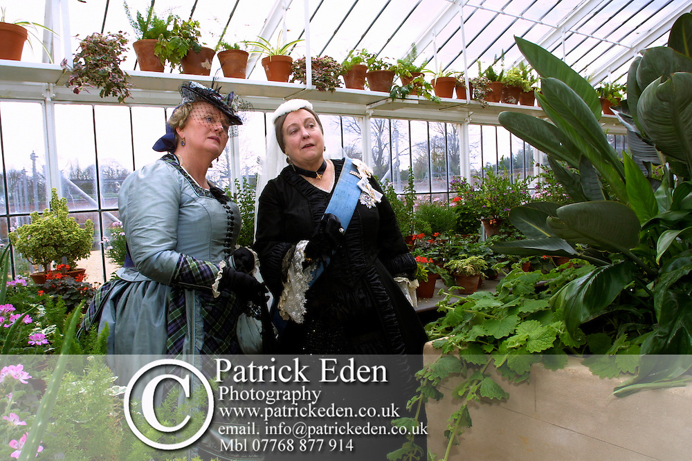 English Heritage, Queen Victoria, Green House, Kitchen garden, People, Isle of Wight, Osborne House, England, UK