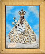 Santuario di Tindari, ex voto custoditi nell'antico santuario.<br /> Tindari sanctuary: votive offering to Black Madonna