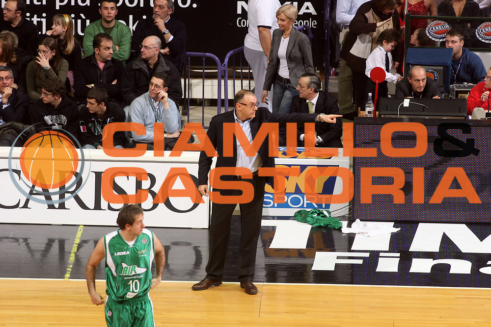 DESCRIZIONE : Bologna Final Eight 2008 Quarti di Finale Premiata Montegranaro Air Avellino<br />
