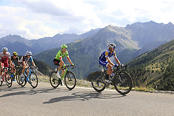Riders climb through the Caisse Deserte on Col d'Izoard during Stage 18 of the 104th edition of the Tour de France 2017, running 179.5km from Briancon to the summit of Col d'Izoard, France. 20th July 2017.<br /> Picture: Eoin Clarke | Cyclefile<br /> <br /> All photos usage must carry mandatory copyright credit (© Cyclefile | Eoin Clarke)