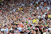FUSSBALL WM 2014                FINALE Deutschland - Argentinien     13.07.2014 Deutschland Fans sorgen fur Stimmung