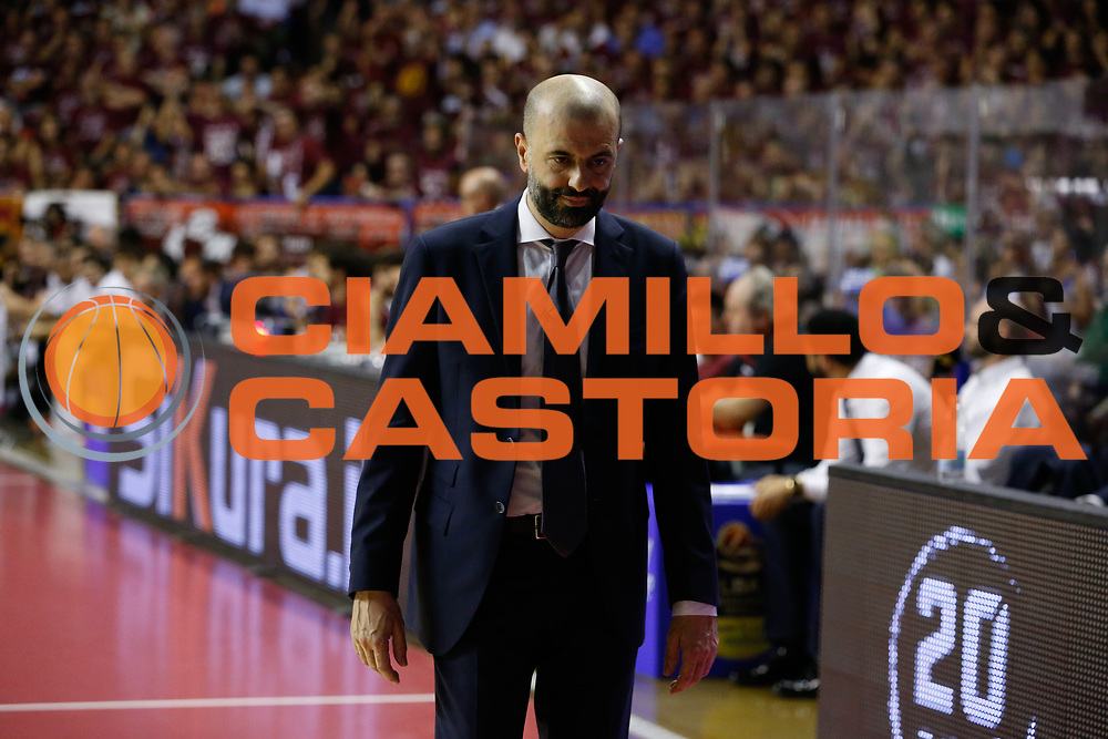 Maurizio Buscaglia<br /> Umana Reyer Venezia - Dolomiti Energia Aquila Basket Trento<br /> Lega Basket Serie A 2016/17 Finali Gara 02<br /> Venezia, 12/06/2017<br /> Foto Ciamillo-Castoria / M. Brondi