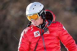 24.01.2020, Streif, Kitzbühel, AUT, FIS Weltcup Ski Alpin, SuperG, Herren, im Bild Andreas Puelacher (Sportlicher Leiter ÖSV Ski Alpin Herren) // Andreas Puelacher Austrian Ski Association head Coach alpine Men's during the men's SuperG of FIS Ski Alpine World Cup at the Streif in Kitzbühel, Austria on 2020/01/24. EXPA Pictures © 2020, PhotoCredit: EXPA/ Johann Groder