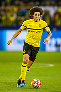 Borussia Dortmund midfielder Axel Witsel (28) during the Champions League round of 16, leg 2 of 2 match between Borussia Dortmund and Tottenham Hotspur at Signal Iduna Park, Dortmund, Germany on 5 March 2019.