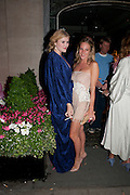 EMERALD FENNELL; ALICE NAYLOR-LEYLAND, Tatler magazine's  pyjama party sponsored by Thomas Pink. Claridge's. London. 7 July 2011.<br /> <br />  , -DO NOT ARCHIVE-© Copyright Photograph by Dafydd Jones. 248 Clapham Rd. London SW9 0PZ. Tel 0207 820 0771. www.dafjones.com.