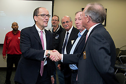 U.S. Department of Labor secretary Thomas Perez made a visit to Louisville, Wednesday, Nov. 20, 2013. <br /> While in Louisville he visited the Ford Motor Company Louisville Assembly Plant, Kentucky Manufacturing Career Center and Office Environment Company for tours and round table discussions. <br /> The secretary visited with elected officials, company officials, community business leaders, students, and employees. Secretary of Labor Thomas Perez  visits the Ford Motor Company Louisville Assembly Plant (LAP), touring the vehicle assembly area, holding a roundtable discussion with Ford and UAW officials