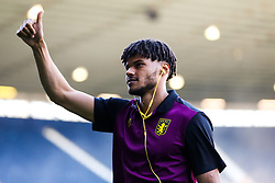 Tyrone Mings of Aston Villa looks on as Villa arrive - Rogan/JMP - 14/05/2019 - The Hawthornes - West Bromwich, England - West Bromwich Albion v Aston Villa - Sky Bet Championship Play-Off Semi Final Leg 2.