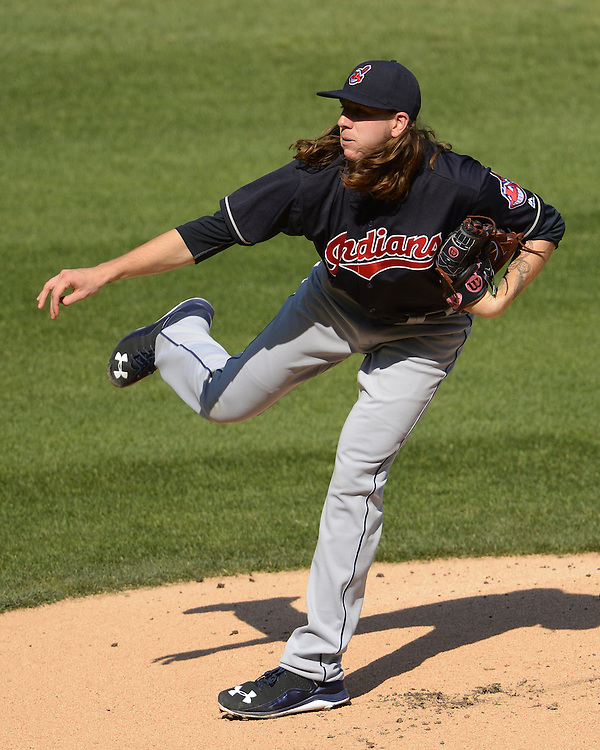 CHICAGO - MAY 23:  Mike Clevinger #52 of the Cleveland Indians pitches against the Chicago White Sox during game one of a double header on May 23, 2016 at U.S. Cellular Field in Chicago, Illinois.  The White Sox defeated the Indians 7-6.  (Photo by Ron Vesely)   Subject:   Mike Clevinger
