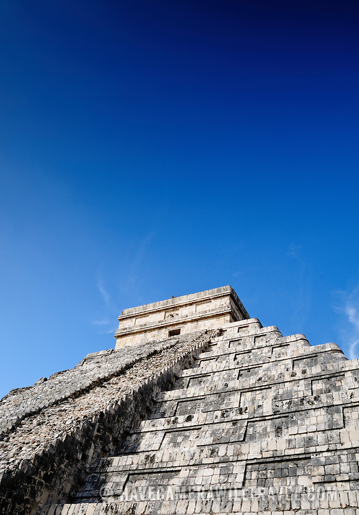 El Castillo (also known as Temple of Kuklcan) at the ancient Mayan ruins at Chichen Itza, Yucatan, Mexico 081216103554_4555.NEF
