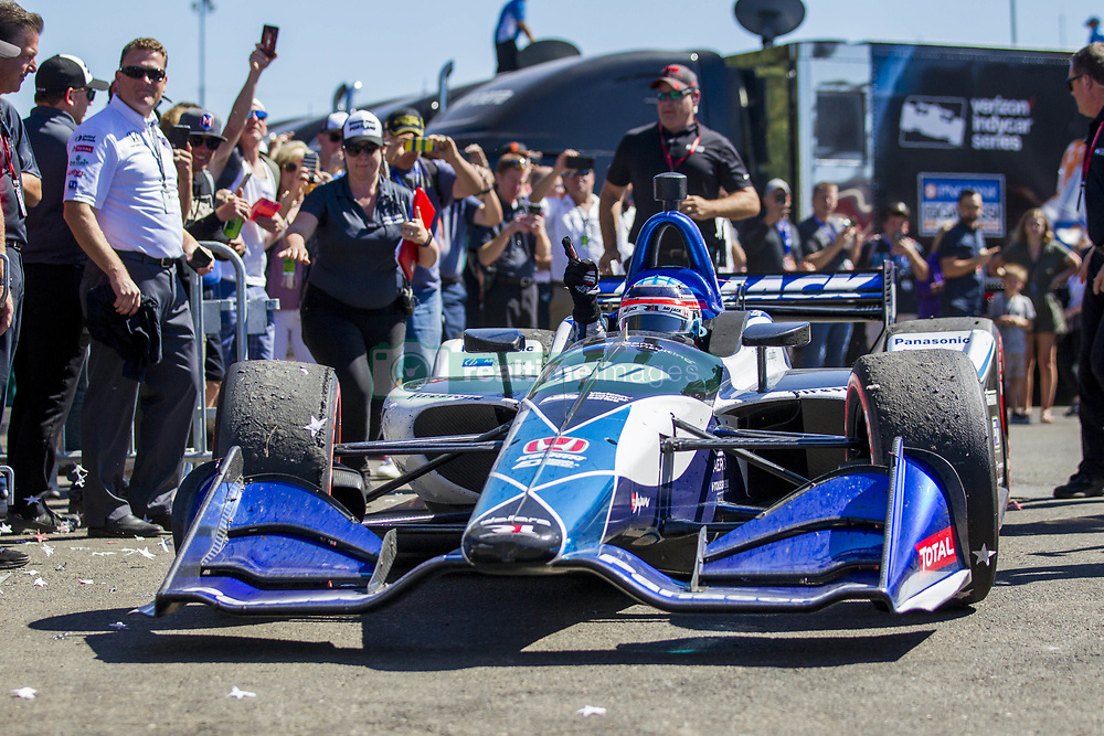 September 2, 2018 - Portland, Oregon, United Stated - TAKUMA SATO (30) of Japan wins the Portland International Raceway at Portland International Raceway in Portland, Oregon. (Credit Image: © Justin R. Noe Asp Inc/ASP via ZUMA Wire)