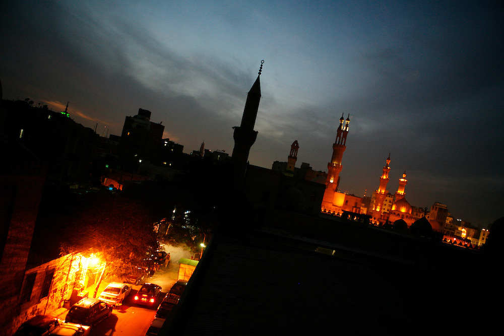 Mosques in Cairo.