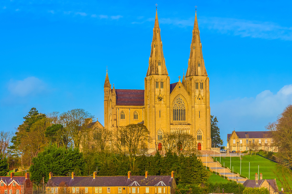 St. Patrick's Roman Catholic Cathedral in Armagh. Image composed of 3 photos at 85mm offering stunning levels of detail.