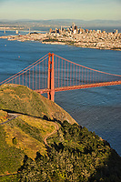 Marin Headlands, Golden Gate Bridge & Downtown SF