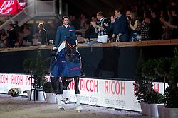 Visser Tommie, NED, Variohippique s Vingino<br /> Ricoh Kür to music<br /> Vlaanderens Kerstjumping Memorial Eric Wauters<br /> © Dirk Caremans<br /> 27/12/2016