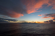 Sunrise, Raiatea, French Polynesia, South Pacific