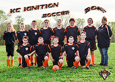 KC Ignition Soccer Team & Individual, March 26, 2012