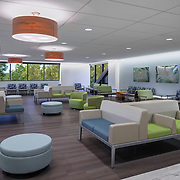 Interior of Kaiser Behavioral Health on Howe Ave, in Sacramento, CA