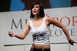 Teja Jeglic during event Miss Sports of Slovenia 2012, on April 21, 2012, in Festivalna dvorana, Ljubljana, Slovenia. (Photo by Urban Urbanc / Sportida.com)