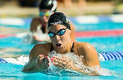 Teja Kozelj of PK Triglav Kranj competes in 200m Breaststroke during Slovenian Swimming National Championship 2014, on August 3, 2014 in Ravne na Koroskem, Slovenia. Photo by Vid Ponikvar / Sportida.com