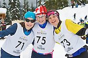 Whistler, BC; Feb. 28-Mar. 1, 2009: The 2009 BC Midget Championships were held in the Callaghan Valley at the Whistler Olympic Park. 167 children from around BC, aged 10-13 years attended the exciting weekend event. Photo By: Joern Rohde / iPhotoWhistler.com