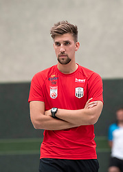 17.06.2019, Pasching, AUT, 1. FBL, Trainingsauftakt, LASK, im Bild Denny Krcmarek, Co-Trainer (LASK) // Denny Krcmarek, Co-Trainer (LASK) during a Trainingssession of Austrian tipico Bundesliga Club LASK in Pasching, Austria on 2019/06/17. EXPA Pictures © 2019, PhotoCredit: EXPA/ Reinhard Eisenbauer