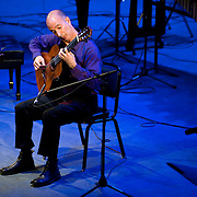 May 14, 2011 - Manhattan, NY : .David Leisner performs pieces by Heitor Villa-Lobos during Symphony Space's Wall to Wall Sonidos concert on Saturday night. .CREDIT: Karsten Moran for The New York Times