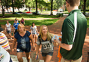 Students and parents involved in Bobcat Studnet Orientation 2013 attened an interactive Welcome session to start incoming students off on the right foot at Ohio University.  July 23, 2013. Photo by Elizabeth Held