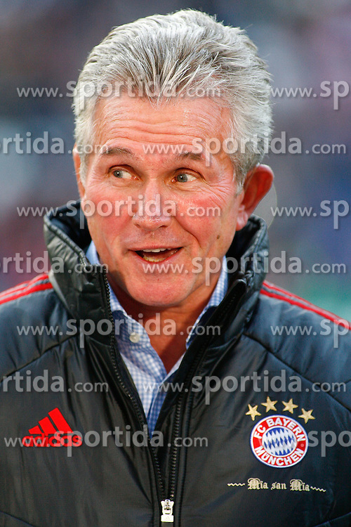 23.10.2011, AWD-Arena, Hannover, GER, 1.FBL, Hannover 96 vs FC Bayern Muenchen, im Bild ein lachender Jupp Heynckes (Trainer Bayern Muenchen) .// during the match from GER, 1.FBL, Hannover 96 vs FC Bayern Muenchen on 2011/10/23, AWD-Arena, Hannover, Germany. .EXPA Pictures © 2011, PhotoCredit: EXPA/ nph/  Schrader       ****** out of GER / CRO  / BEL ******