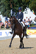 Bryony Goodwin - Hawtins Floriana<br /> FEI World Breeding Dressage Championships for Young Horses 2012<br /> © DigiShots