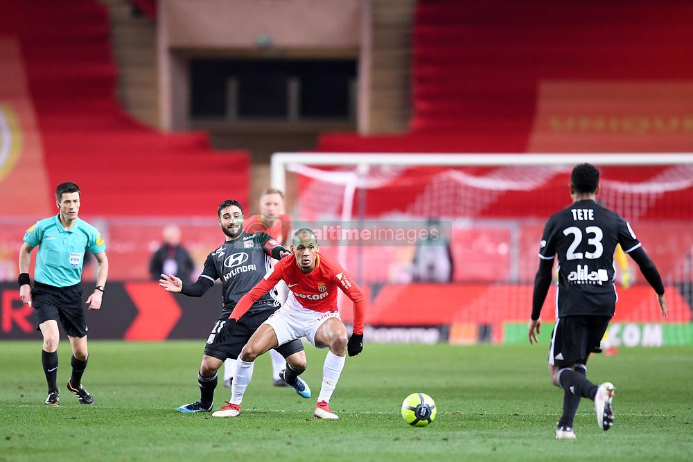 February 4, 2018 - Monaco, France - 02 FABINHO (mon) - 18 NABIL FEKIR  (Credit Image: © Panoramic via ZUMA Press)