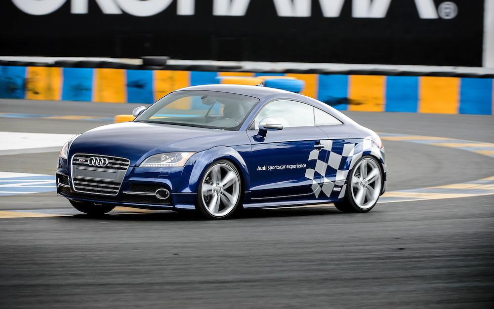 TTS in Turn 11 at Sonoma Raceway | Audi sportscar experience