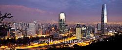 FOTÓGRAFO: Oliver Llaneza ///<br /> <br /> Vista de Santiago para Delta Sky Magazin