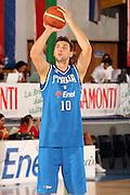 DESCRIZIONE : Bormio Torneo Internazionale Gianatti Finale Italia Croazia <br /> GIOCATORE : Andrea Bargnani<br /> SQUADRA : Nazionale Italia Uomini <br /> EVENTO : Bormio Torneo Internazionale Gianatti <br /> GARA : Italia Croazia<br /> DATA : 04/08/2007 <br /> CATEGORIA : Tiro<br /> SPORT : Pallacanestro <br /> AUTORE : Agenzia Ciamillo-Castoria/G.Cottini