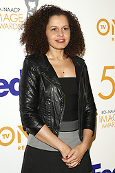 March 9, 2019 - Los Angeles, CA, USA - LOS ANGELES - MAR 9:  Katrina O'Gilvie at the 50th NAACP Image Awards Nominees Luncheon at the Loews Hollywood Hotel on March 9, 2019 in Los Angeles, CA (Credit Image: © Kay Blake/ZUMA Wire)
