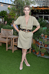 ASHLEY JAMES at a vintage fashion pop-up evening hosted by Dawn O'Porter at The Gardening Society, John Lewis, Oxford Street on 27th July 2016.