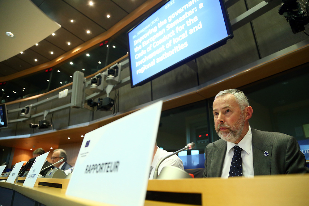 11 May 2017, 123rd Plenary Session of the European Committee of the Regions <br /> Belgium - Brussels - May 2017 <br /> <br /> JONKMAN Rob, Member of the Executive Council of Opsterland, Netherlands<br /> <br /> &copy; European Union / Patrick Mascart