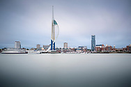 The Spinnaker Tower in Portsmouth.<br /> Picture date: Friday June 23, 2017.<br /> Photograph by Christopher Ison &copy;<br /> 07544044177<br /> chris@christopherison.com<br /> www.christopherison.com
