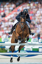 Sam Griffiths, (AUS), Paulank Brockagh - Jumping Eventing - Alltech FEI World Equestrian Games™ 2014 - Normandy, France.<br /> © Hippo Foto Team - Jon Stroud<br /> 31-08-14