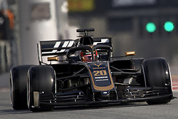February 19, 2019 - Barcelona, Barcelona, Spain - Kevin Magnussen of Denmark driving the (20) Rich Energy Haas F1 Team VF-19 during day two of F1 Winter Testing at Circuit de Catalunya on February 19, 2019 in Montmelo, Spain. (Credit Image: © Jose Breton/NurPhoto via ZUMA Press)